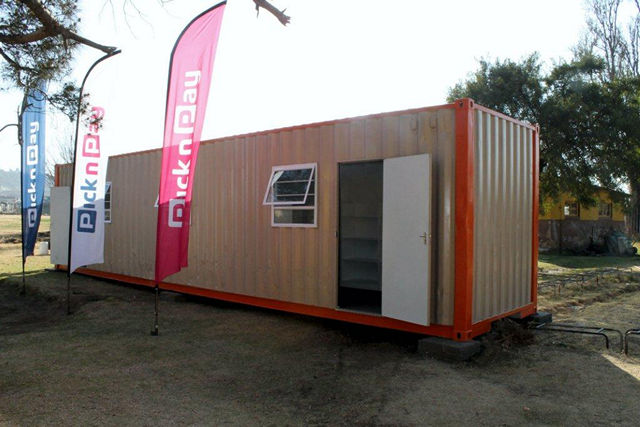 Affordable Housing -  Container Dwellings