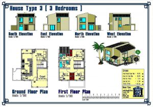 Affordable Housing - Double Story Unit