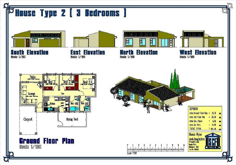 Affordable Housing single storage unit